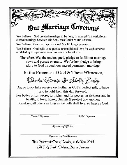 Marriage Counseling Certificate Template Inspirational with Reverent Hearts Covenant Of Marriage Certificate