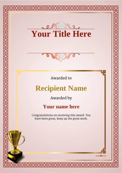 Martial Arts Certificate Creator Program Beautiful Free Martial Arts Certificate Templates Add Printable