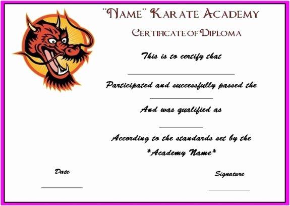 Martial Arts Certificate Template Unique 16 Best Martial Art Certificate Images On Pinterest
