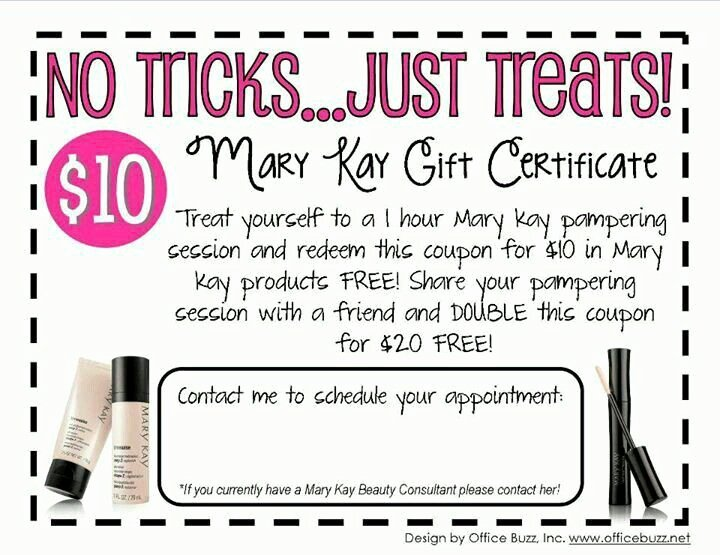 Mary Kay Gift Certificate Template Best Of 23 Best Mk Gift Certificates Images On Pinterest