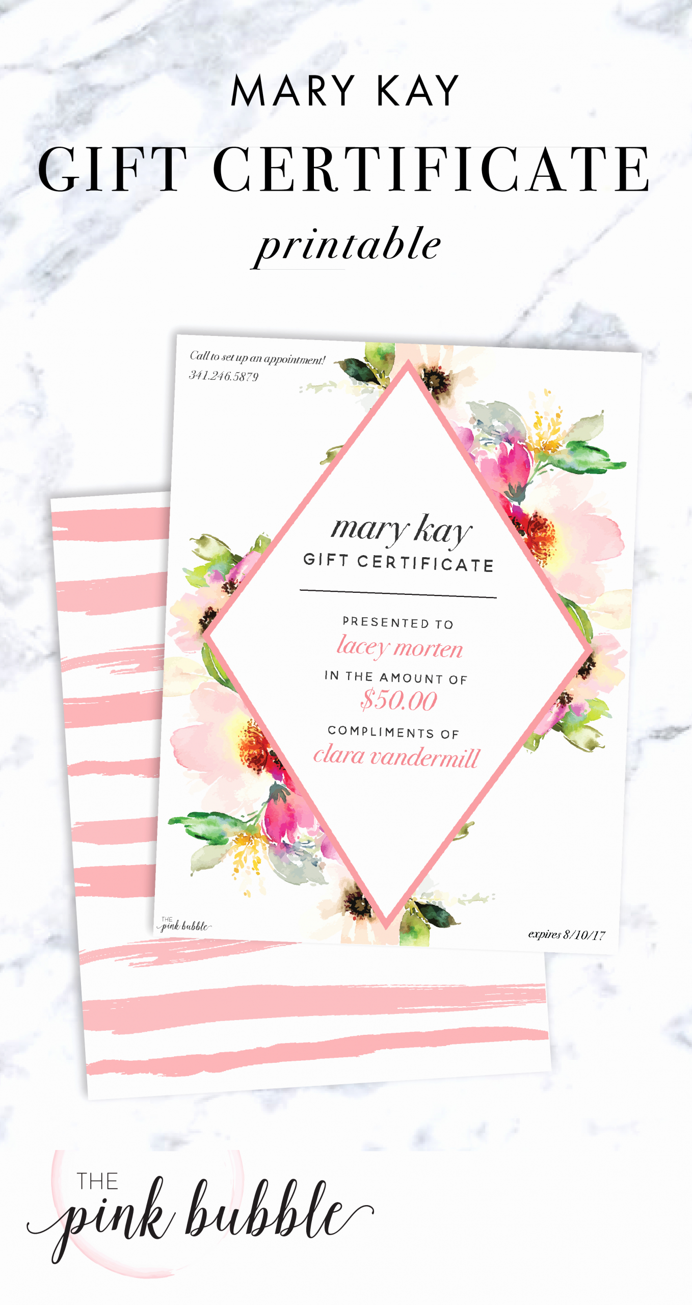 Mary Kay Gift Certificate Template Elegant Mary Kay Gift Certificate Find It Only at
