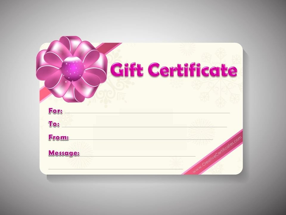 Mary Kay Gift Certificate Template Free Download Awesome Printable T Voucher Shoes N Sandals