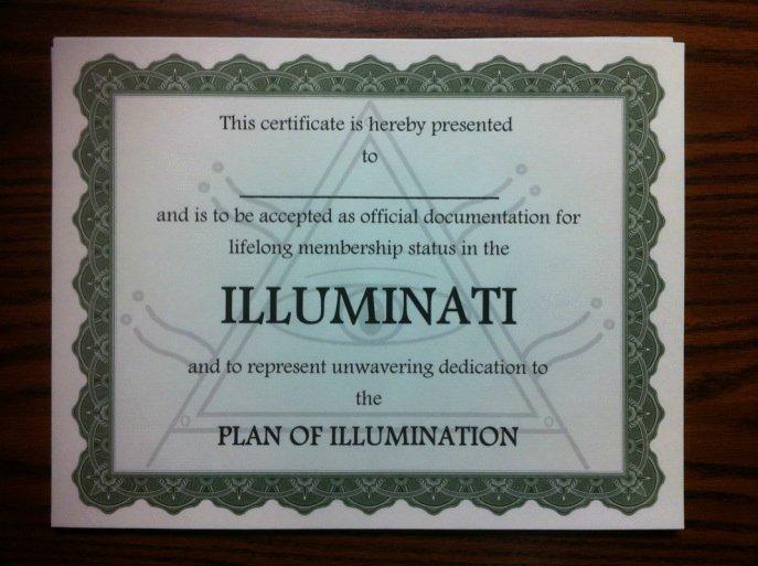 Masonic Certificate Template Free Luxury Illuminati Certificate Blank Template Imgflip