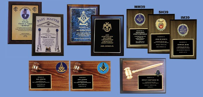 Masonic Certificate Template Free Unique George Lauterer Corporation Plaques Custom Recognition