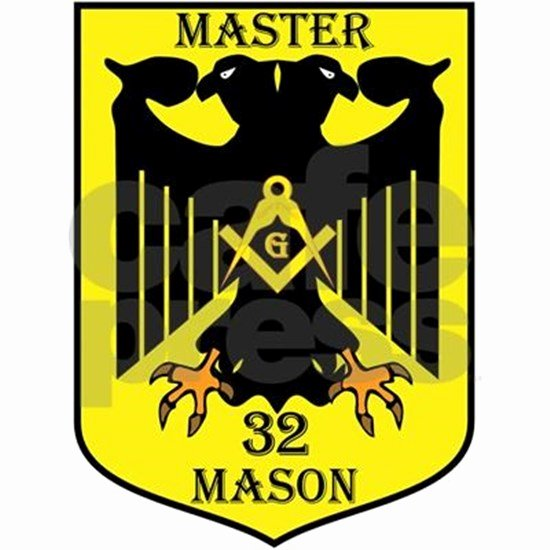 Master Mason Certificate Template Inspirational 32nd Degree Master Masons Eagle Tile Coaster by that