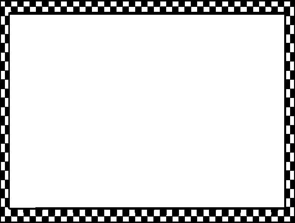 Math Borders for Word New Checkerboard Border Clip Art at Clker Vector Clip