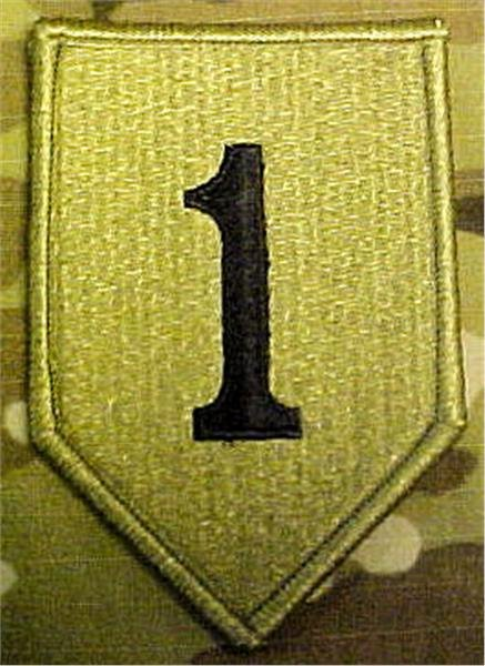 Mc Patch Template Best Of 1st Infantry Division Multicam Ocp Patch Velcro or