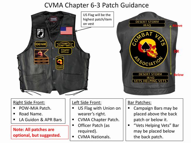 Mc Patch Template Luxury Cvma bylaws Patch Guidance Cvma 6 3