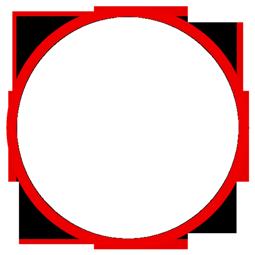 Mc Patch Template Unique Circular Outline Blank Patch – Custom Patches