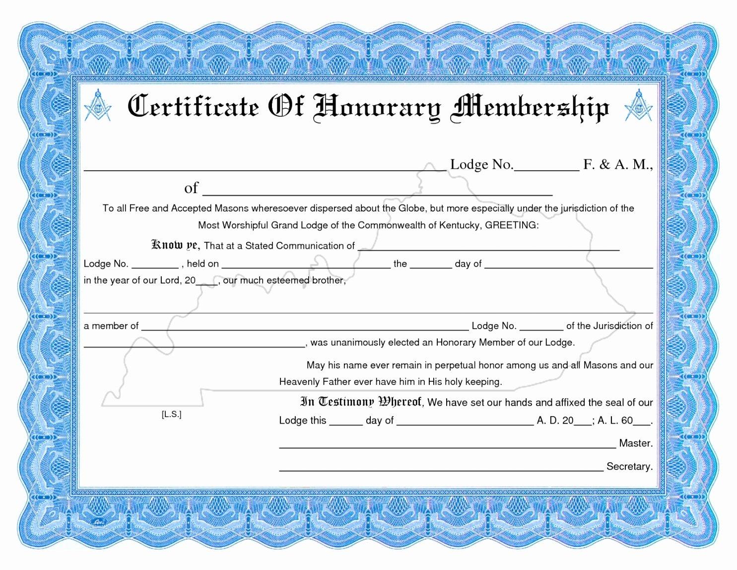 Membership Certificate Llc Template Awesome Editable Membership Certificate Template Llc New Church