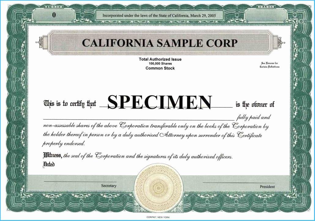 Membership Certificate Llc Template Awesome Llc Membership Certificate Template 7061