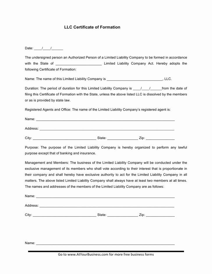 Membership Certificate Llc Template Lovely Membership Certificate Template