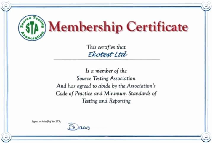 Membership Certificate Llc Template Luxury Membership Certificate Templates Word Excel Samples