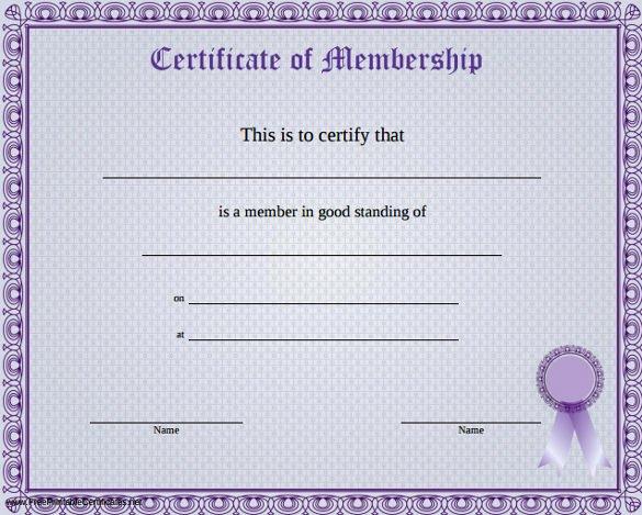 Membership Certificate Llc Template New 23 Membership Certificate Templates Word Psd In