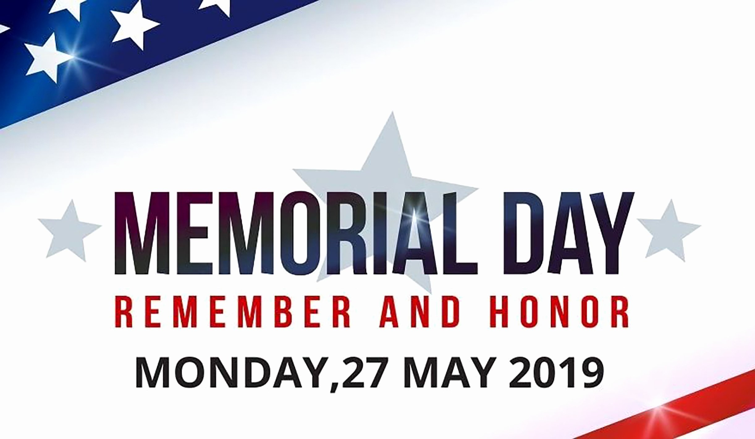 Memorial Day Closed Sign Template Awesome Memorial Day 2019 May 27 2019 Jenchaos Reviews