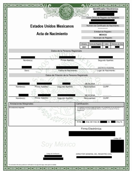 Mexican Birth Certificate Translation Template Pdf Best Of Uscis Immigration Translation Services Ses Translators