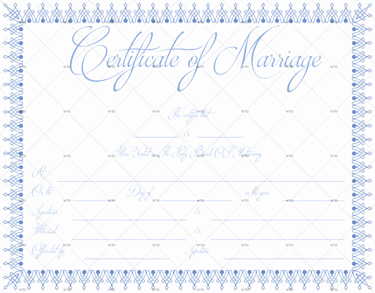 Microsoft Office Marriage Certificate Template Elegant 60 Marriage Certificate Templates for Microsoft Word