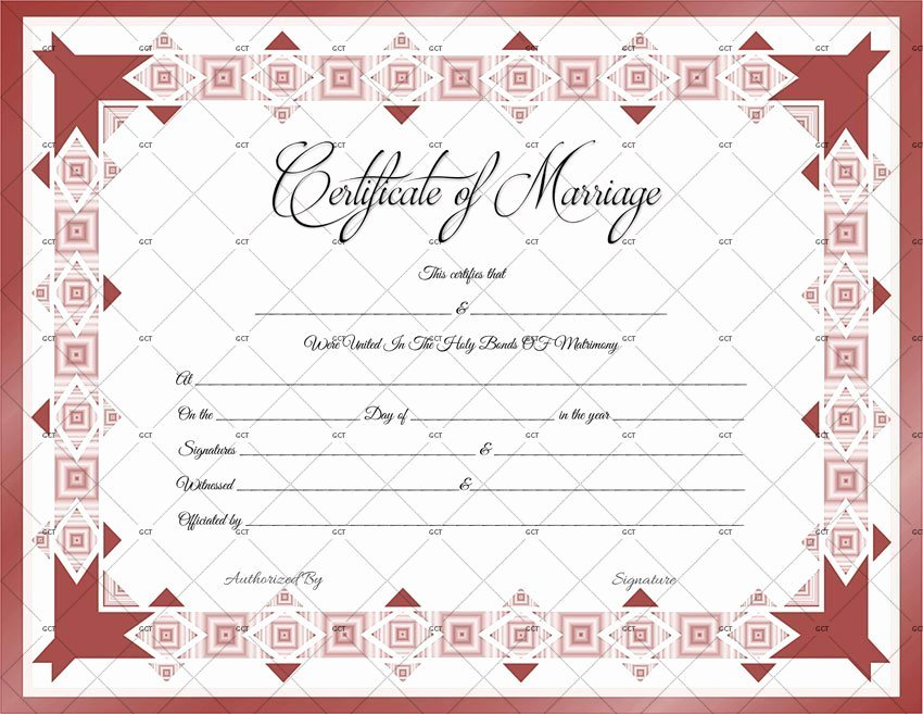 Microsoft Office Marriage Certificate Template Inspirational Marriage Certificate Template 22 Editable for Word