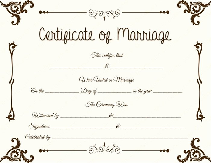 Microsoft Office Marriage Certificate Template Luxury 20 Best Printable Marriage Certificates Images On