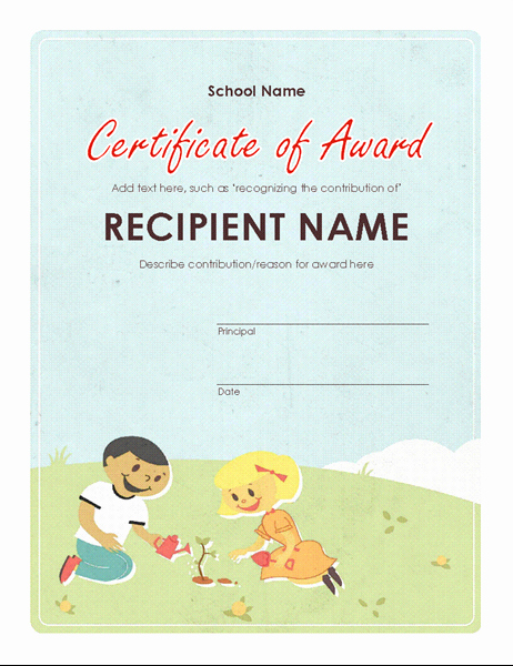Microsoft Powerpoint Certificate Templates Awesome Certificates Fice