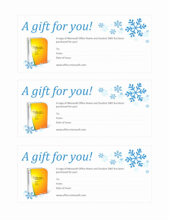 Microsoft Powerpoint Certificate Templates New Gift Certificate Template for Microsoft Word Template for