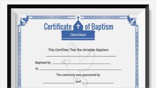 Microsoft Word Baptism Certificate Template Beautiful Baptism Certificate Template 10 Free Pdf Documents