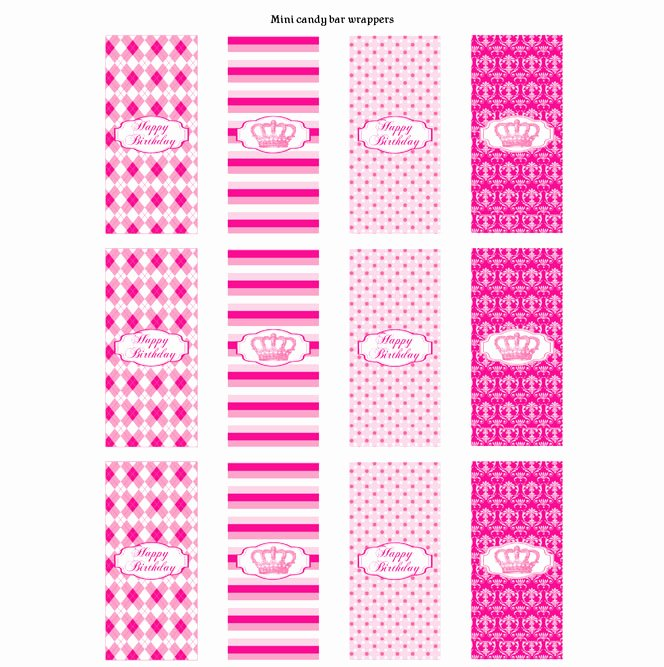Mini Candy Bar Wrapper Template for Word Beautiful Other Printable Gallery Category Page 179