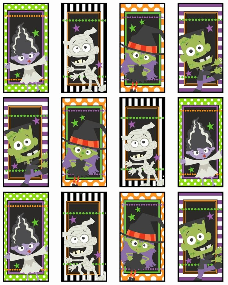 Mini Candy Bar Wrapper Template for Word Best Of Mini Candy Bar Halloween Wrappers Digital Download