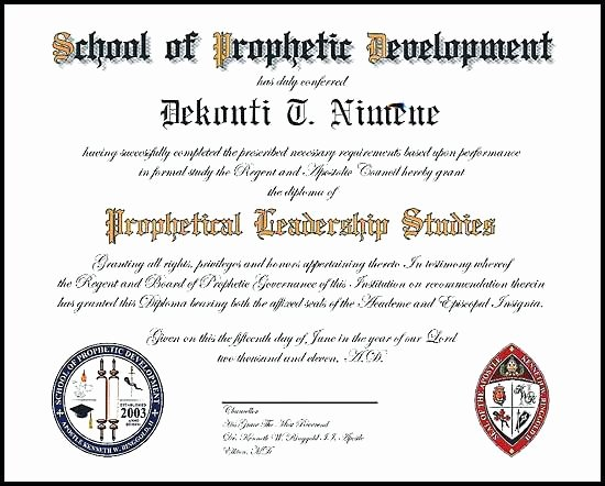 Ministerial License Certificate Template Inspirational ordained Minister Certificate