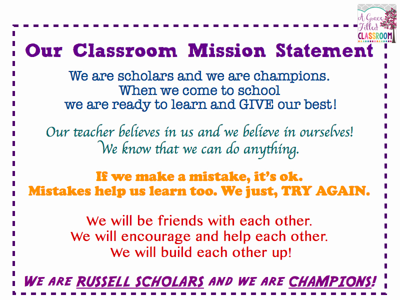 Mission Statement Examples for Students Best Of 3 Things All Students Need From their Teachers A Grace