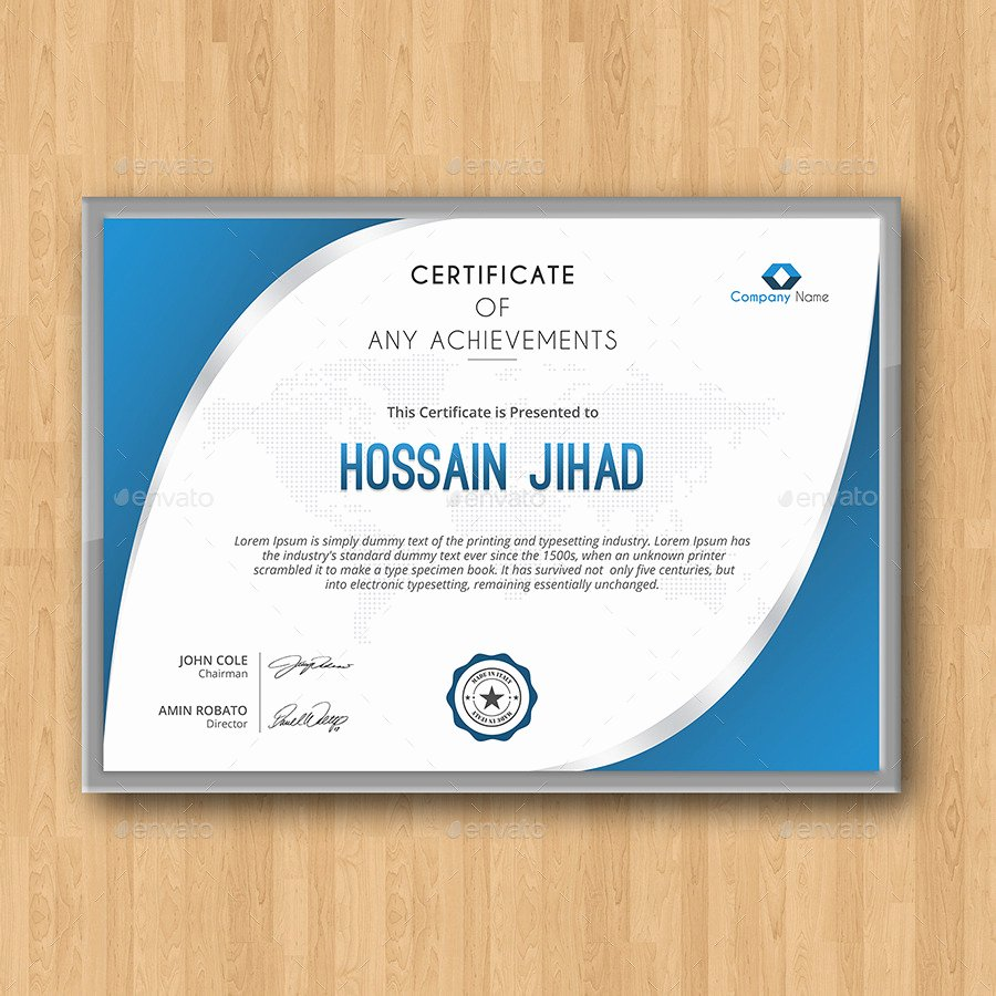 Modern Certificate Design Psd Best Of 50 Diploma and Certificate Templates In Psd Word Vector