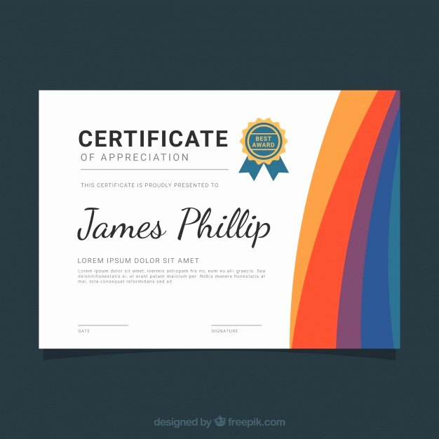 Modern Certificate Design Psd Best Of Modern Diploma In Abstract Design Vector