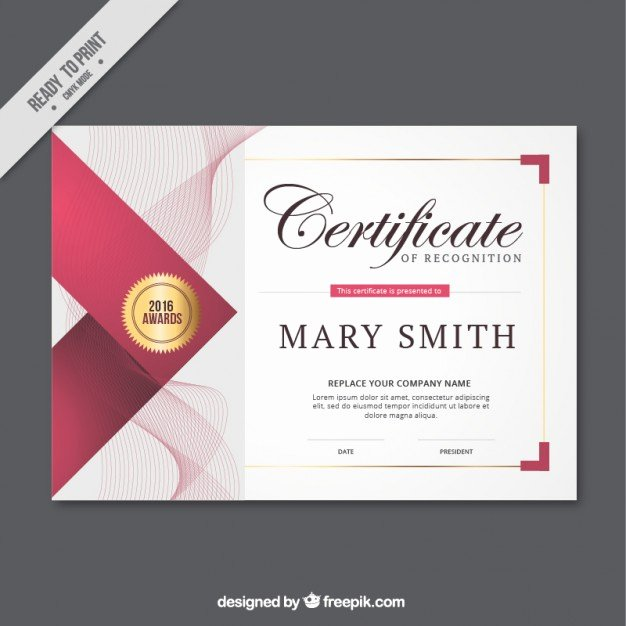 Modern Certificate Design Psd Elegant Certificate Vectors S and Psd Files