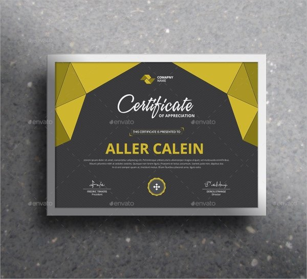 Modern Certificate Design Psd Lovely 39 Psd Certificate Templates Psd Ai Word Indesign