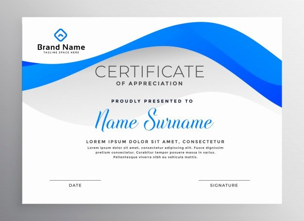 Modern Certificate Design Psd Lovely Certificate Backgrounds Vectors S and Psd Files