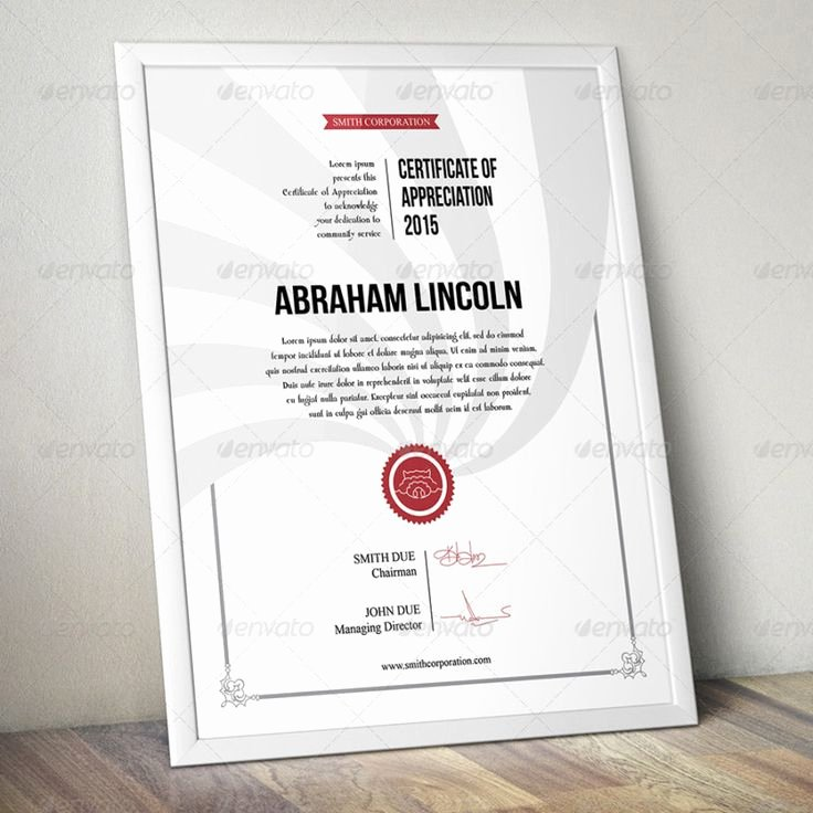 Modern Certificate Template Psd Awesome 17 Best Images About Certificate Of Appreciation Template