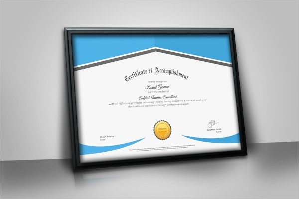 Modern Certificate Template Psd Awesome 39 Psd Certificate Templates Psd Ai Word Indesign