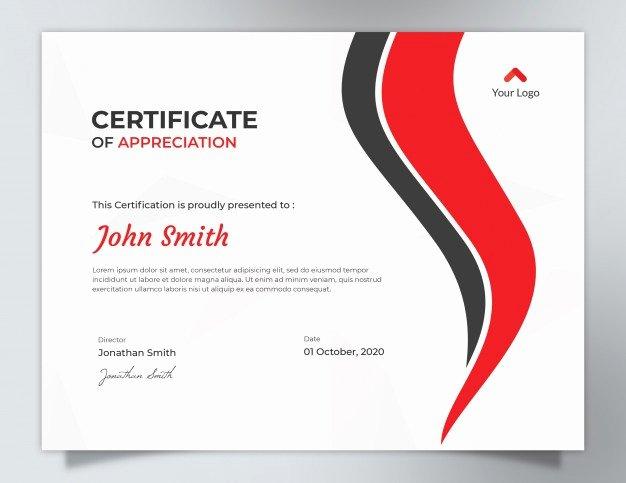 Modern Certificate Template Psd Lovely Modern Certificate Template Psd File