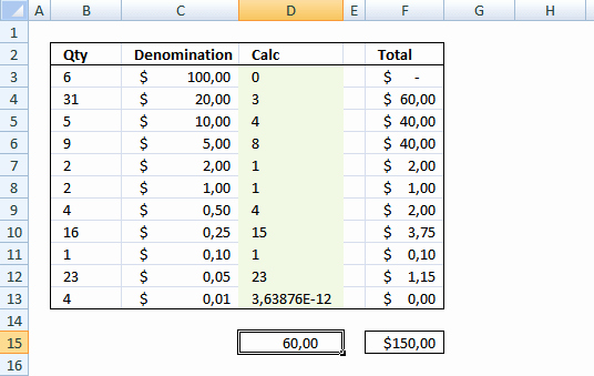 Money Drawer Count Sheet Beautiful Cash Drawer Bill Extractor Template In Excel