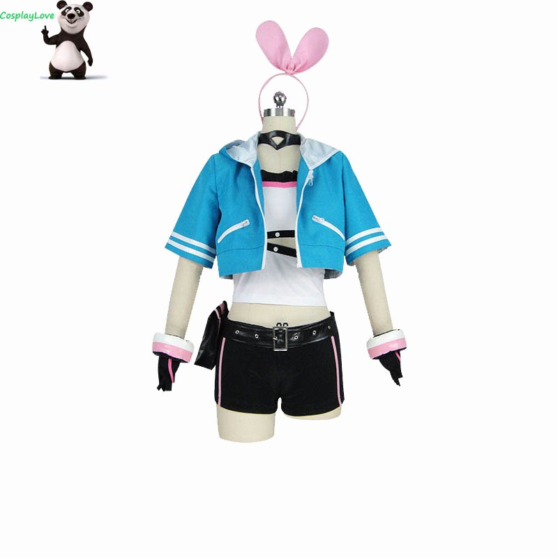 Most Customizable Dress Up Game Fresh Cosplaylove R Kizuna Ai A I Channel A I Games Blue