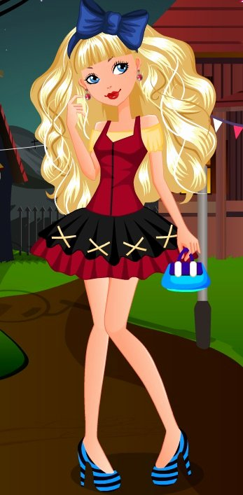 Most Customizable Dress Up Game Inspirational Ever after High Blon Dressup – Girls Game
