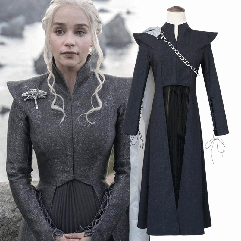 Most Customizable Dress Up Game New Game Thrones Daenerys Targaryen Costume Season 7 Cosplay