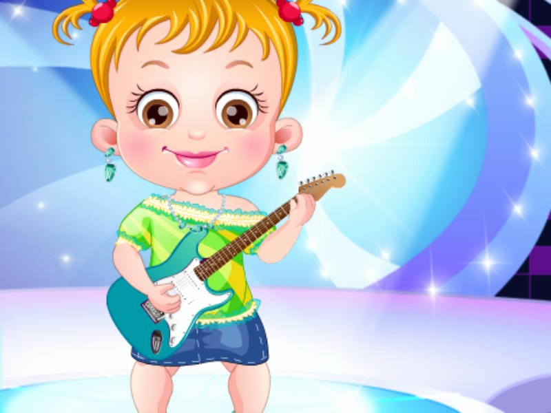 Most Customizable Dress Up Game Unique Baby Hazel Rockstar Dressup