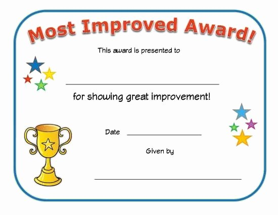 Most Improved Award Ideas Best Of Pinterest • the World's Catalog Of Ideas