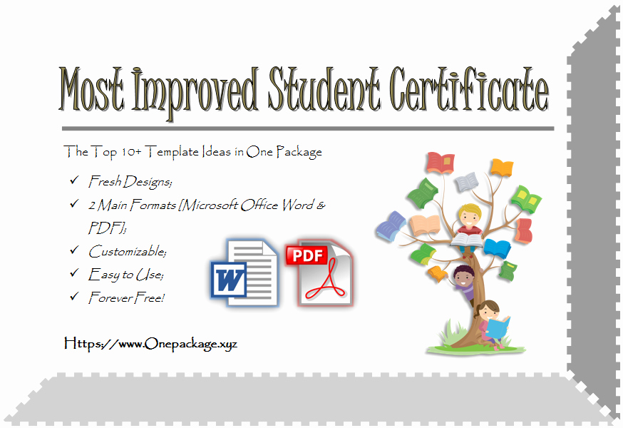 Most Improved Award Template Elegant Most Improved Student Certificate top 10 Ultimate Awards