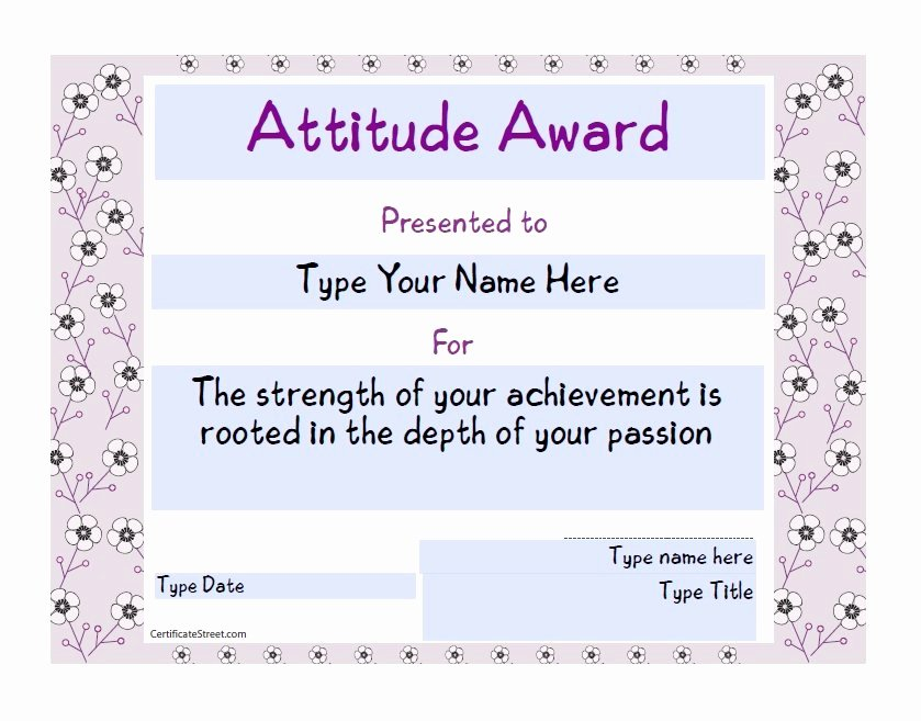 Most Improved Student Award Speech Unique 50 Amazing Award Certificate Templates Template Lab