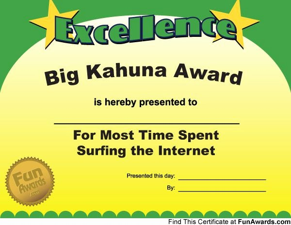 Most Likely to Certificate Template New Pin On Funny