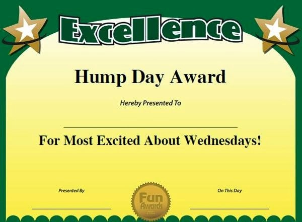 Most Likely to Certificate Template Unique Funny Award Title Ideas