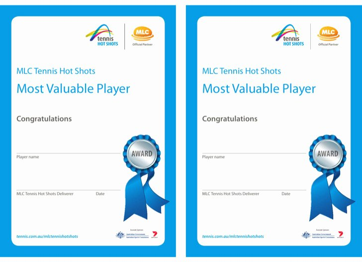 sportsmanship certificate templates
