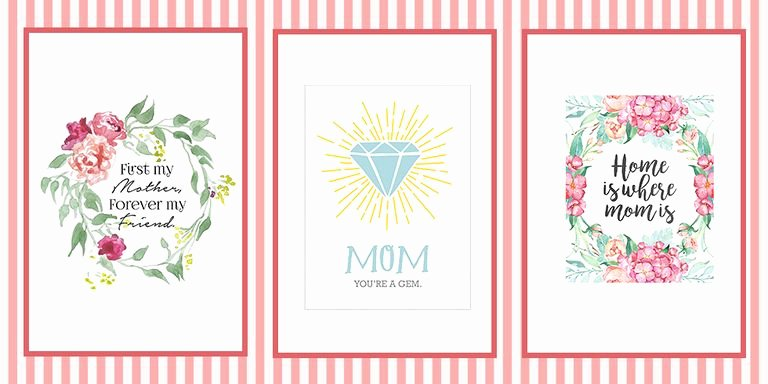 Mother Day Certificates to Print Awesome 18 Mothers Day Cards Free Printable Mother S Day Cards